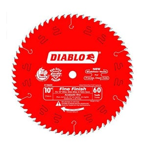 Diabo Tooth Fine Finish Saw Blade