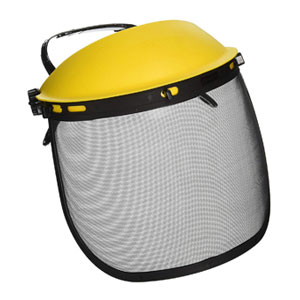Face Shield with Adjustable Mesh Visor