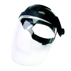 Face Shield with Ratchet Headgear