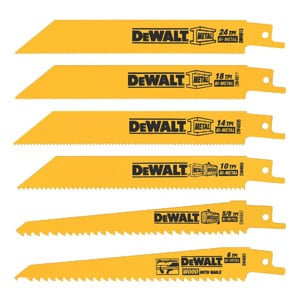 Saw Blades, Metal/Wood Cutting Set, 6-Piece