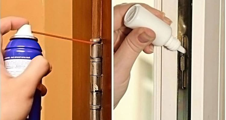 How to Lubricate Door Hinges