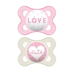 MAM Attitude Collection Pacifiers (2 pack)