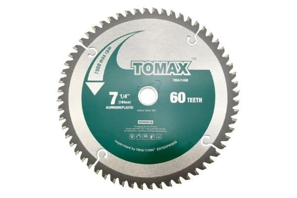 TOMAX 7-14-Inch 60 Tooth